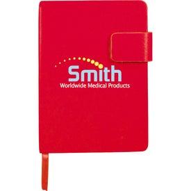 Personalized Magnetic Closure Junior Notebook