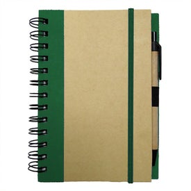 Medium Recycled Notebook for Your Company
