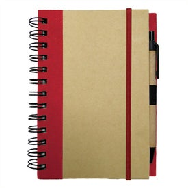 Medium Recycled Notebook for Your Organization