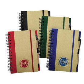 Medium Recycled Notebook