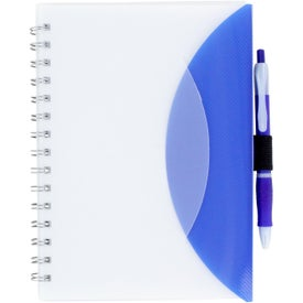Company Medium Flexible Notebook and Sticky Note Combo