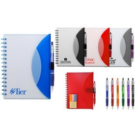 Medium Flexible Notebook and Sticky Note Combo