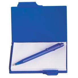 Logo Memo Notebook With Pen
