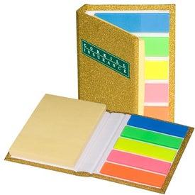 Imprinted Micro High Society Sticky Book