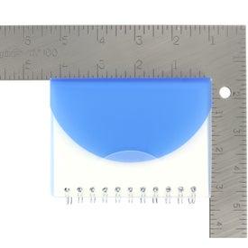 Logo Mini Spiral Notebook