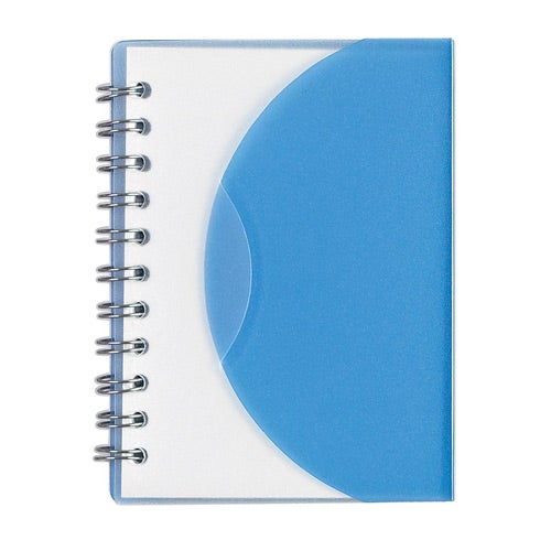 Blue Mini Bound Notebook