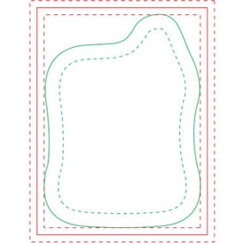 "Mortar and Pestle BIC Ecolutions Adhesive Die Cut Notepad (25 Sheets, 3.7566"" x 2.7546"")"