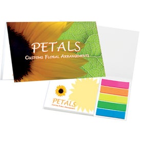 Mylar Flag And Notepad Booklets