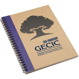 Imprinted Naturally Recycled Notebook