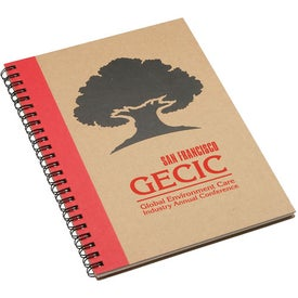 Naturally Recycled Notebook for Customization