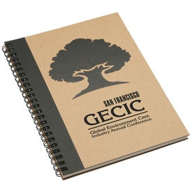 Naturally Recycled Notebook Printed with Your Logo