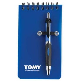 Nerde Mini Pocket Notebook w/Pen Branded with Your Logo