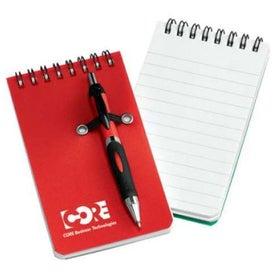 Nerde Mini Pocket Notebook w/Pen