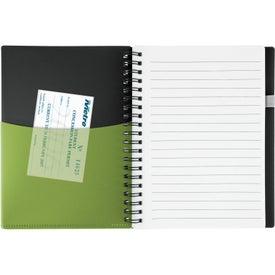 Customized New Wave Black Pocket Buddy Notebook