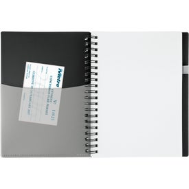 New Wave Pocket Buddy Notebook for Advertising