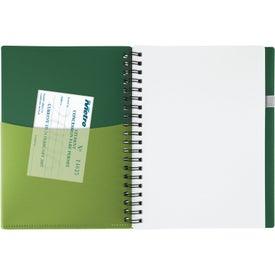 Branded New Wave Pocket Buddy Notebook