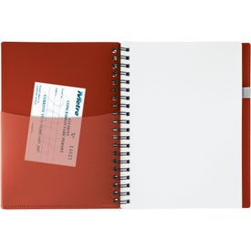 New Wave Pocket Buddy Notebook Imprinted with Your Logo