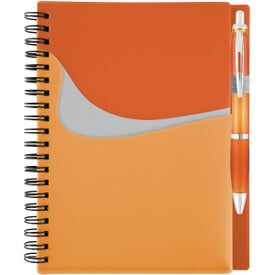 Personalized New Wave Pocket Buddy Notebook