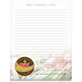 """Non-Adhesive Scratch Pad (8 1/2"""" x 11"""", 25 Sheets)"""