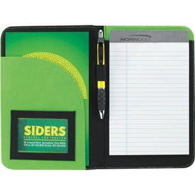 Advertising Non-Woven Curve Jr. Padfolio