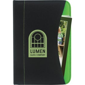 Non-Woven Curve Jr. Padfolio Branded with Your Logo