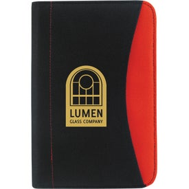Non-Woven Curve Jr. Padfolio for Your Company