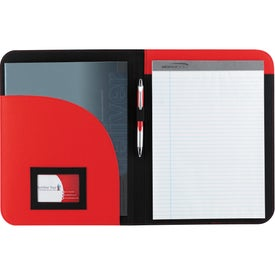 Non-Woven Curve Padfolio Giveaways
