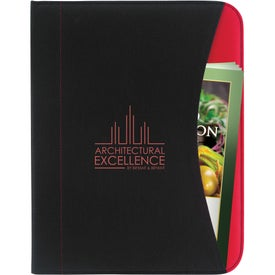 Non-Woven Curve Padfolio for your School