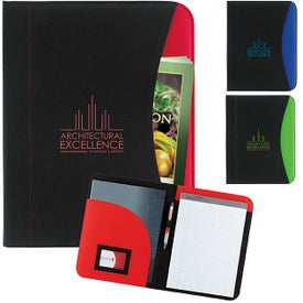 Non-Woven Curve Padfolio for Promotion