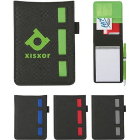 Non-Woven Ribbon Jotter Imprinted with Your Logo