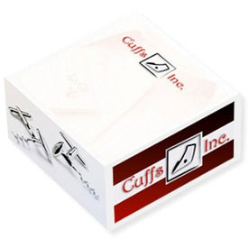 "Non Adhesive Paper Cube (3"" x 3"" x 1 1/2"")"