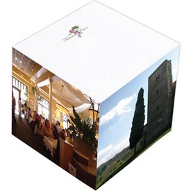 Personalized Non Adhesive Paper Cube