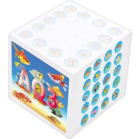 Non Adhesive Paper Cube for Promotion