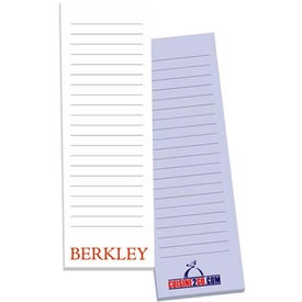 Non-Adhesive Scratch Pad Branded with Your Logo