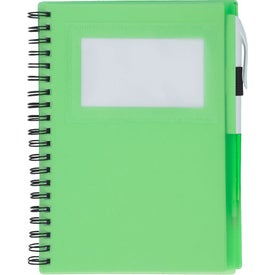 Spiral Notebook With ID Window for Your Church