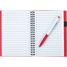Spiral Notebook With ID Window Giveaways
