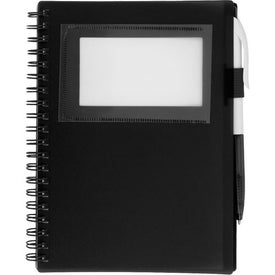 Spiral Notebook With ID Window for your School