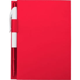 "Promotional 4"" x 6"" Notebook With Pen"