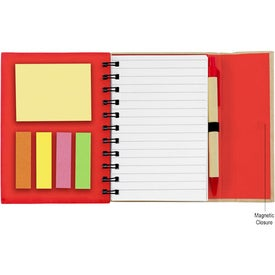 Small Spiral Notebook with Sticky Notes and Flags Giveaways