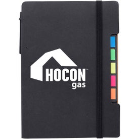 Notepad with Sticky Flags And Pen (30 Sheets)