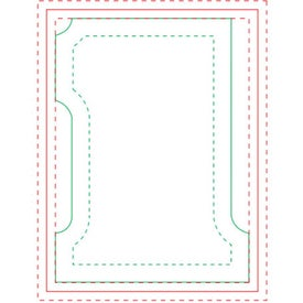Number 1 BIC Ecolutions Adhesive Die Cut Notepad (25 Sheets)