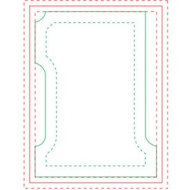 "Number One BIC Ecolutions Adhesive Die Cut Notepad (100 Sheets, 3.7459"" x 2.7463"")"