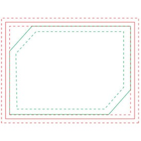 Package Adhesive Sticky Note Pads (Medium, 100 Sheets)