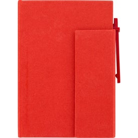 Personalized Paper Cover Notebook With Pen