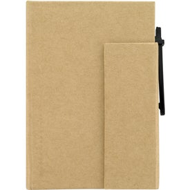 Custom Paper Cover Notebook With Pen