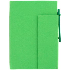 Paper Cover Notebook With Pen Printed with Your Logo