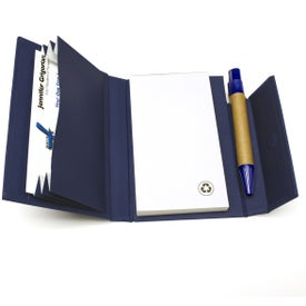 Paper Cover Notebook With Pen for Your Organization