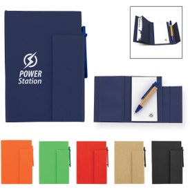 Paper Cover Notebook With Pen for Marketing
