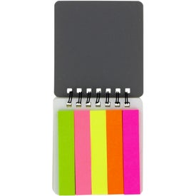 Paper Flag Notebook for Marketing