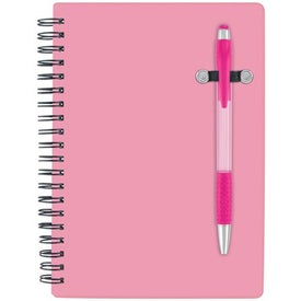 Pen-Buddy Notebook Printed with Your Logo